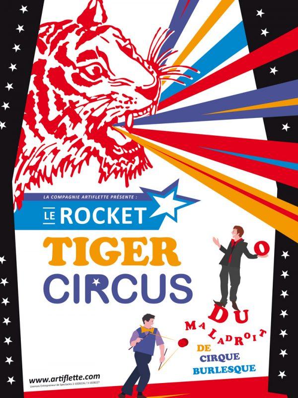 Compagnie Artiflette dans Le Rocket Tiger Circus
