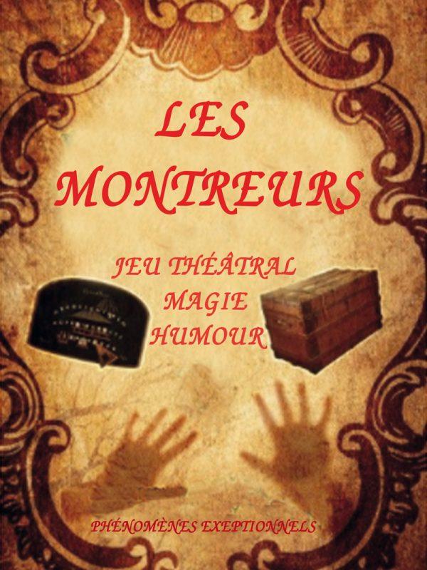 Compagnies Zinzoline et Absolu Théâtre dans Les Montreurs