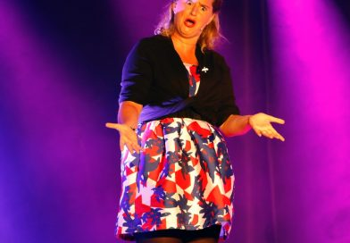 Elodie Poux assure le show