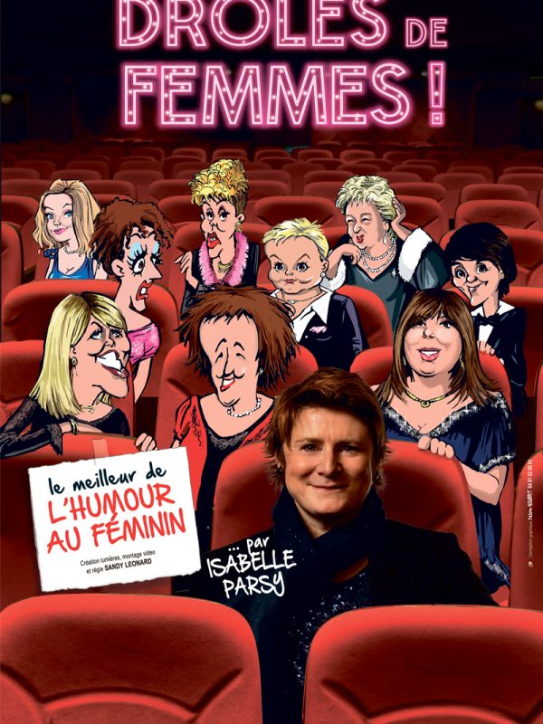"""ISABELLE PARSY dans """"DRÔLES DE FEMMES"""""""