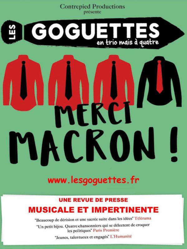 LES GOGUETTES dans «MERCI MACRON !»