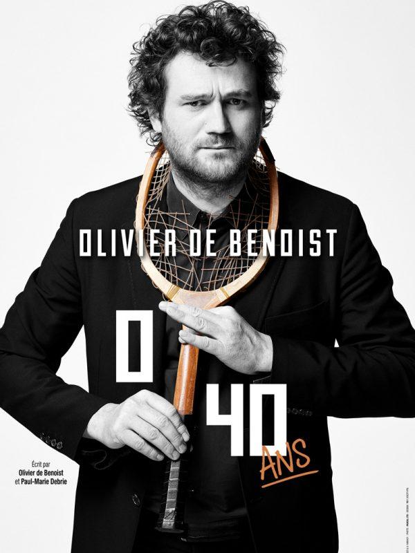 OLIVIER DE BENOIST dans 0/40 ANS