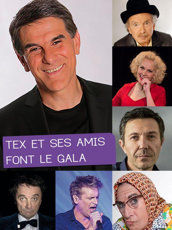 TEX ET SES AMIS FONT LE GALA